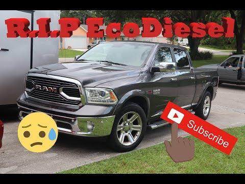 My 2016 Ram 1500 EcoDiesel blew up
