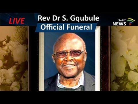 Official funeral for REV DR Simon Gqubule: 02 June 2016