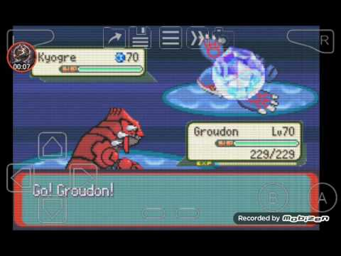 Pokemon Theta Emerald 721 Ex(primal battle)