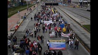 Marchas estudiantiles: nueva protesta se llevará a cabo este miércoles en Bogotá | Noticias Caracol