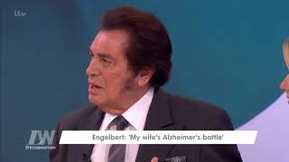 Engelbert Humperdinck on Daily Life With His Wife's Alzheimer's   Loose Women