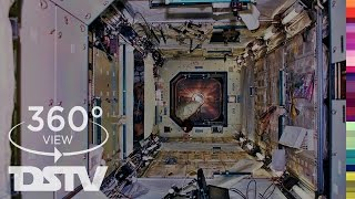 INSIDE THE INTERNATIONAL SPACE STATION | 360° VR SPACE VIDEO