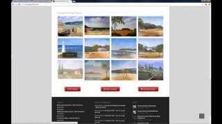 Moore Art School Website Walkthrough