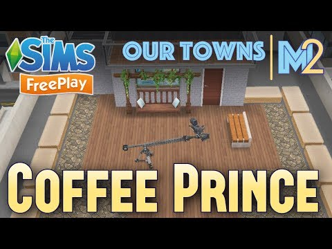 Sims FreePlay - Penthouse of Coffee Prince (KDrama)