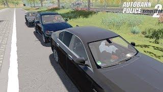Autobahn Police Simulator 2 - VIP Escort! Gameplay 4K