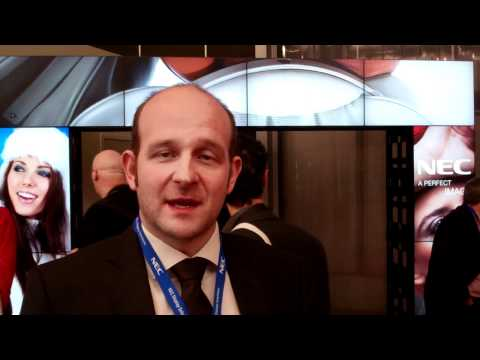 ISE 2012, Thorsten Prsybyl, Product Line Manager Public Display