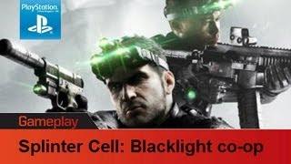 Splinter Cell Blacklist PS3 gameplay co op