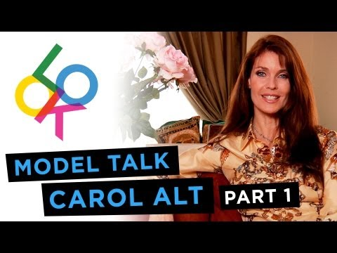 Carol Alt, Part 1: Model Talk - YouTube