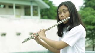 Indonesia Jaya (Liliana T.) Flute Piano Cover by Stefani Dewi Riyadi & Jeffry Amadeo Sutandio
