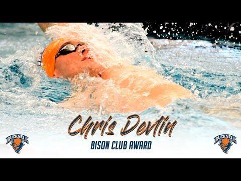 Chris Devlin -Bison Club Award Winner