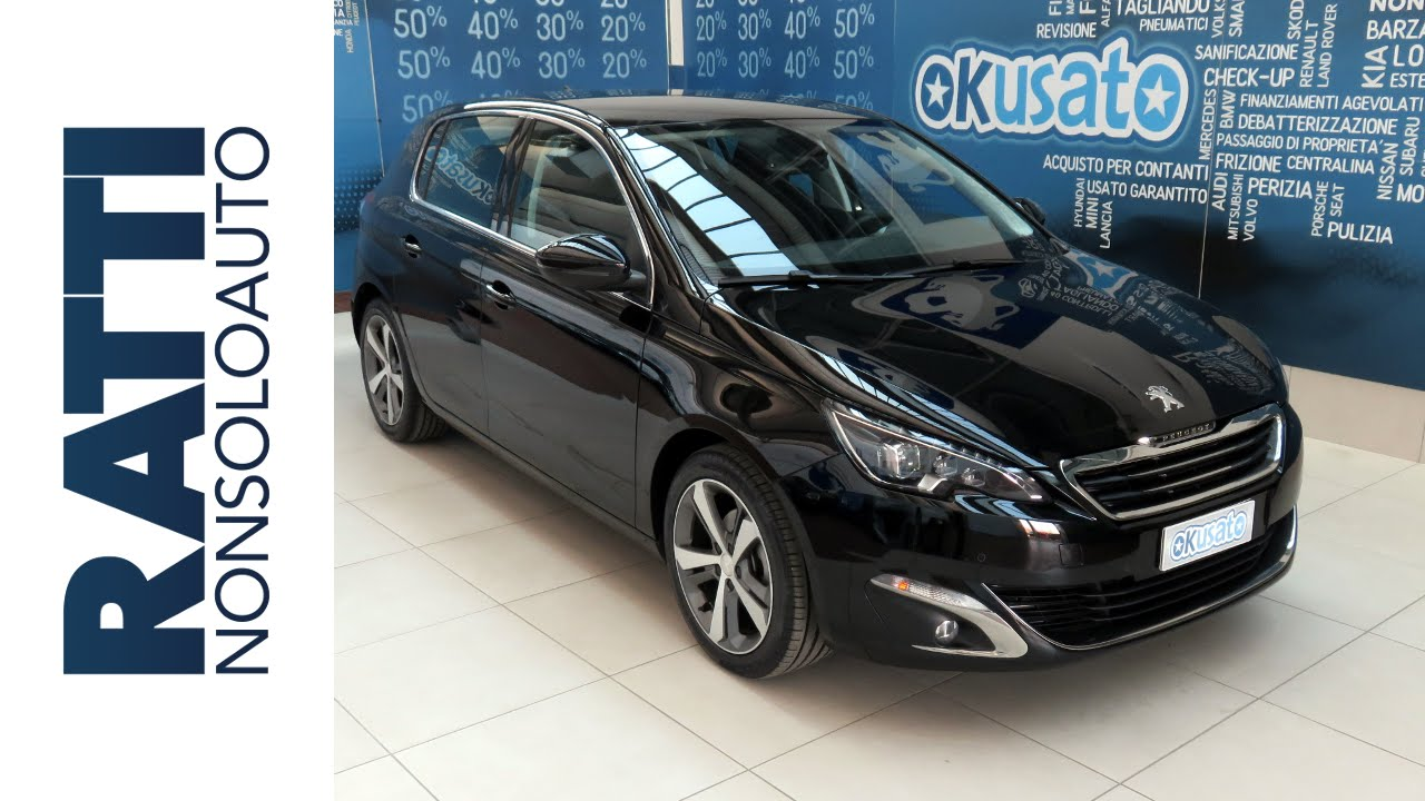 peugeot nuova 308 allure 1 6 e hdi aziendali km 0. Black Bedroom Furniture Sets. Home Design Ideas