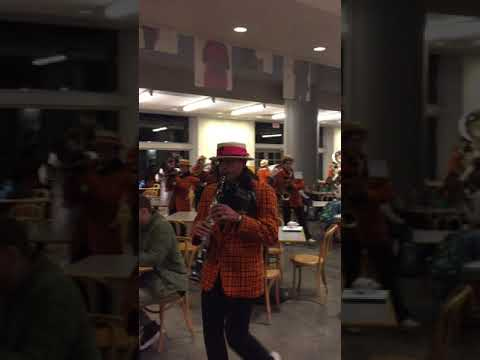 Princeton University Band plays on Fall 2017 Dean's Date Eve