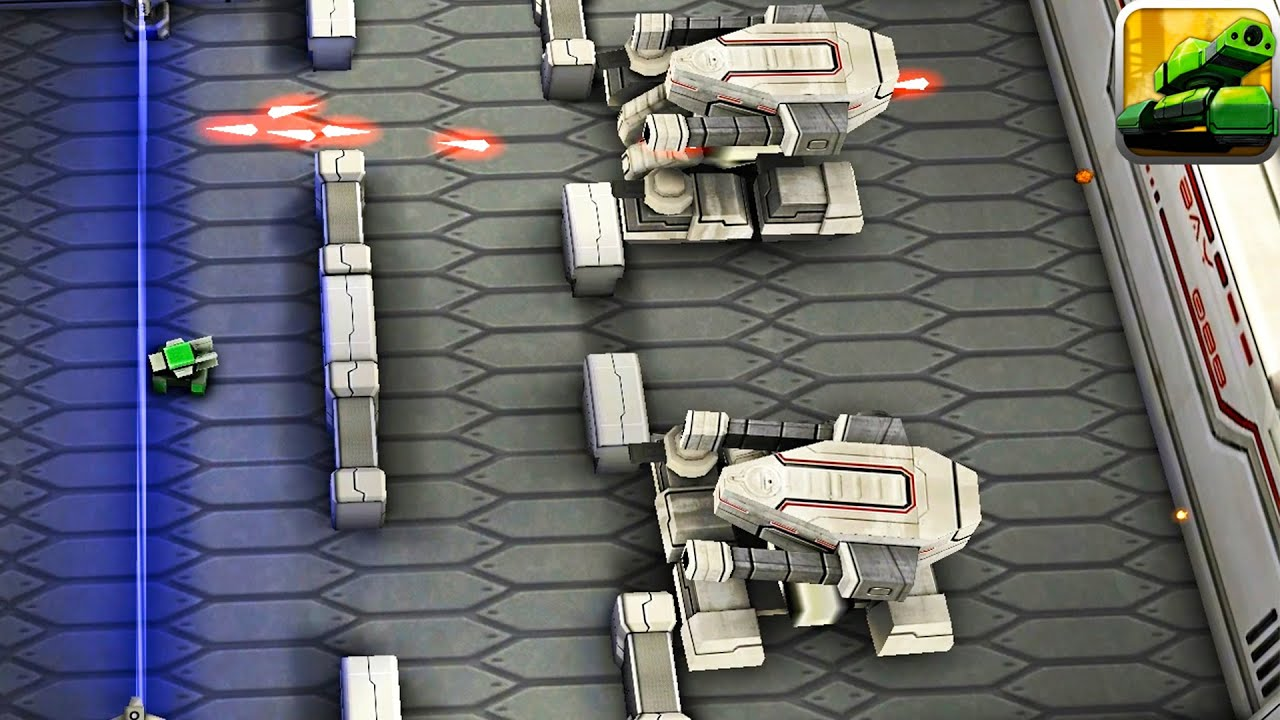 Tank Hero: Laser Wars - MOON ALL 30 Levels Super Laser Tank | Mobile Game  Android - YouTube