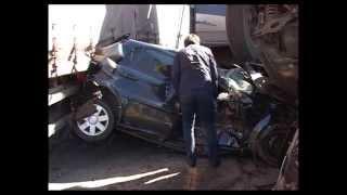 Массовая авария на трассе М 7