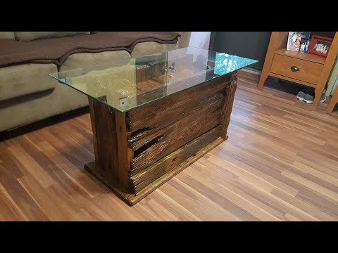 Building A Drift Wood Coffee Table