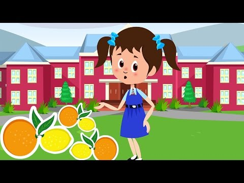 Oranges and Lemons Sold For A Penny - Nursery Rhyme with Lyrics