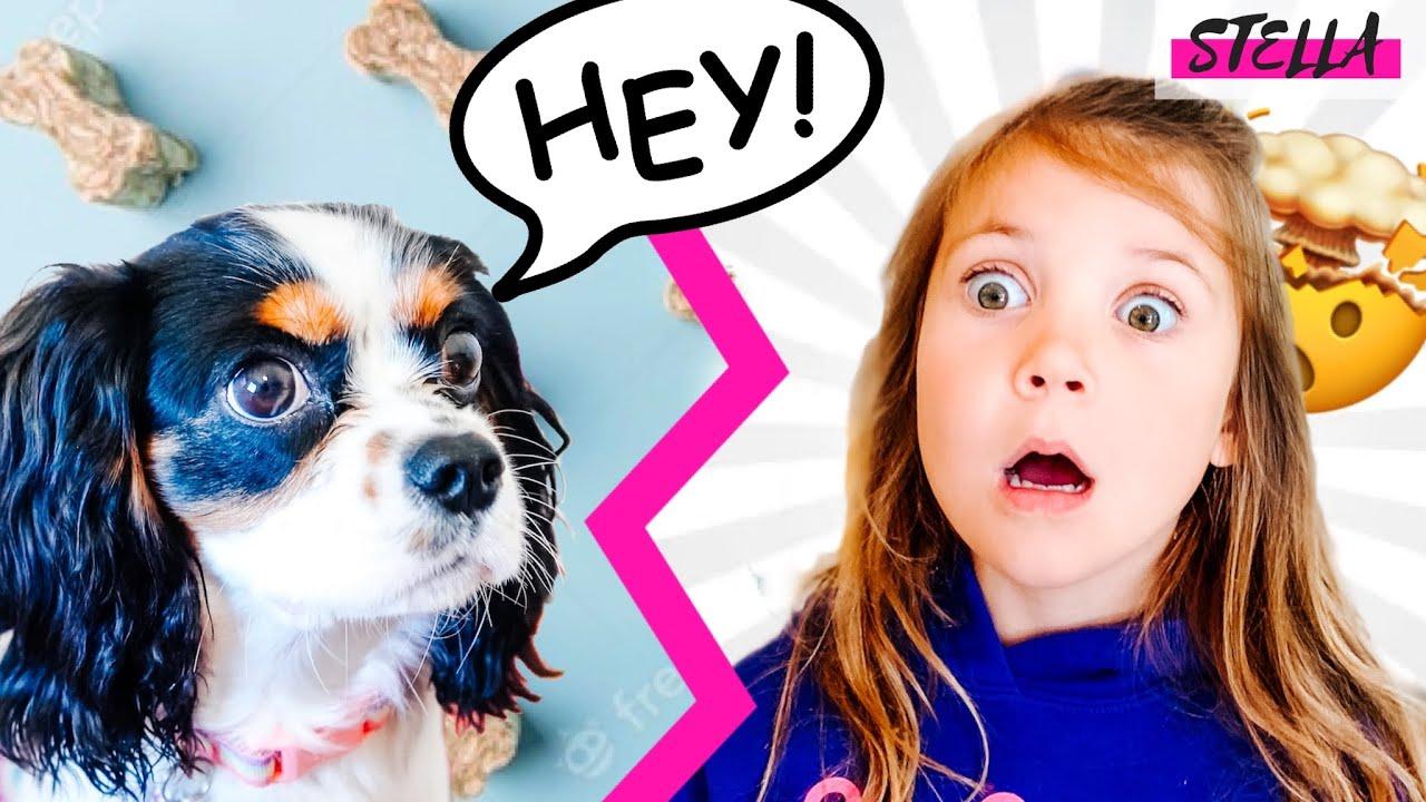 My Puppy Can TALK!!!