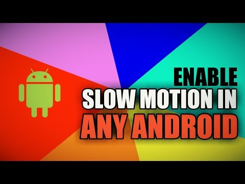 How To Enable Slow Motion In Any Android Device | No Root