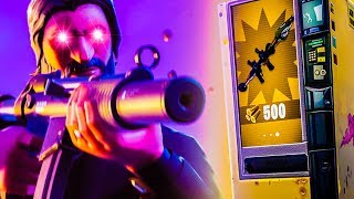 "🔴 MACHINES DE VENTE - FORTNITE!!! w/ John Wick Skin ""THE REAPER"""