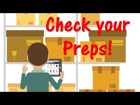 February: Check Your Preps Month