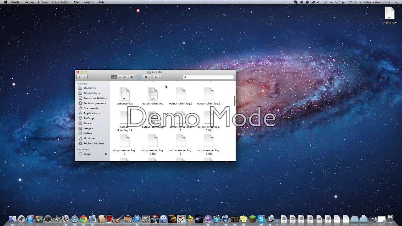 tuto comment installer un pack de texture sur ascentia (mac) - YouTube