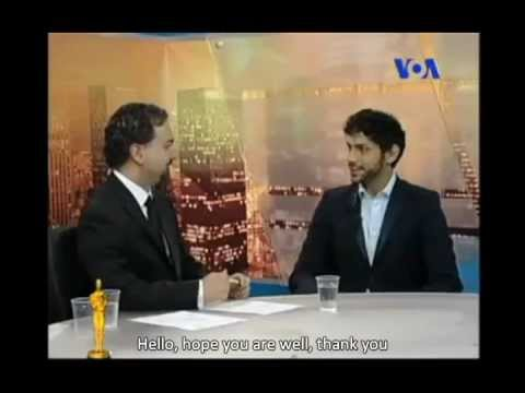 Interview with Nima Shiraz on 84th Anual Academy Awards on VOA's Shabahang with English Subtitles