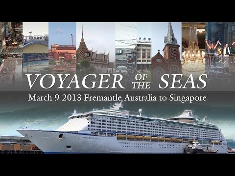 Singapore Repositioning Cruise 2013 - Voyager of the Seas - Ship & Port Highlights (ft. Cabin 1244)