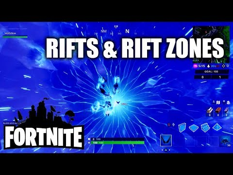 Fortnite Season 10 ALL Rifts And Rift Zone Locations