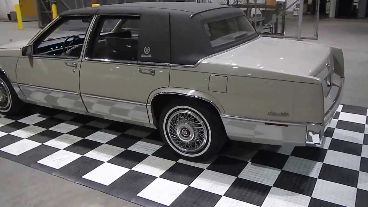 1989 Cadillac Deville - YouTube