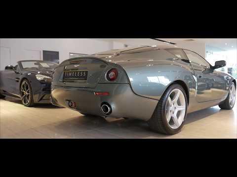 Aston Martin DB7 Zagato - Very rare and expensive collectors car
