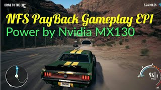 NFS PayBack Gameplay with Nvidia GeForce MX130 - Dell Inspiron 5584