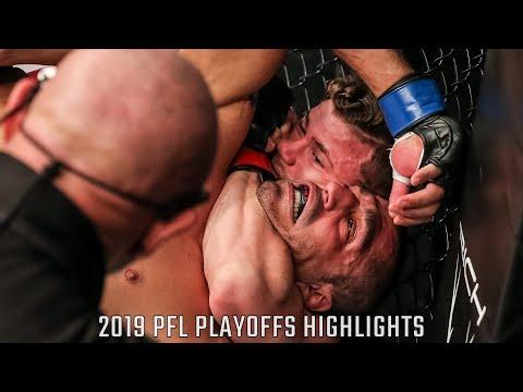 Natan Schulte, Daniel Pineda Get Key Finishes   2019 PFL Playoffs Highlights
