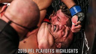 Natan Schulte, Daniel Pineda Get Key Finishes | 2019 PFL Playoffs Highlights