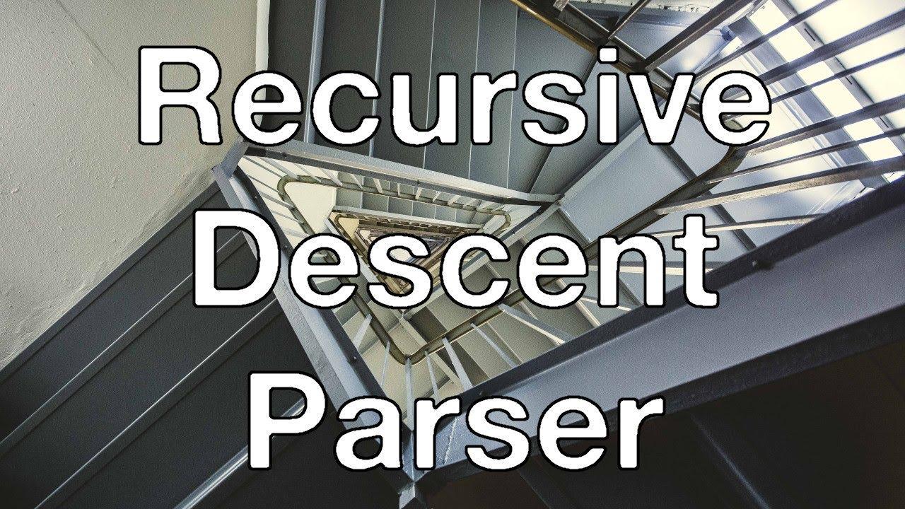 recursive descent parser examples