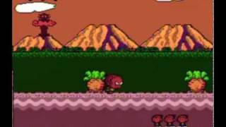 Bonk's Adventure - Turbografx-16 Gameplay