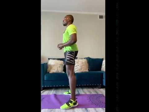 Glutes, and Abs at home workout.