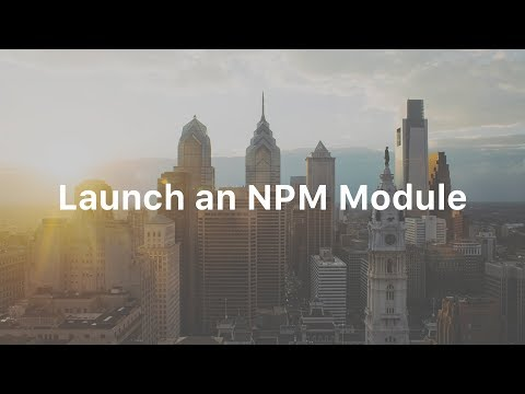 Publish Your Own npm Module: Creating a Local Module (1 of 2)