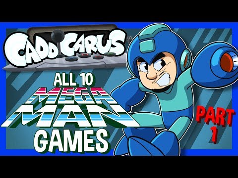 ALL 10 Mega Man Games.... (PART 1/2)