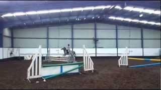 laura rose riding bella show jumping april 2012 Thumbnail