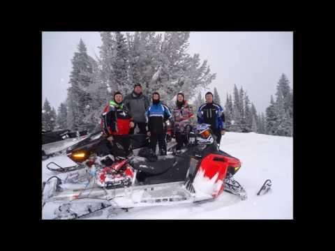 West Yellowstone 2016 Snowmobiling Trip