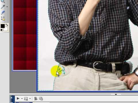PhotoImpact-X3教學-選取工具-利用選取工具來去除背景和改變 ...