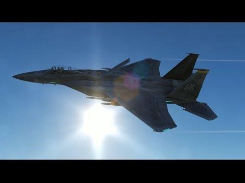 米軍戦闘機部隊vsロシア軍戦闘機部隊【DCSWorld】