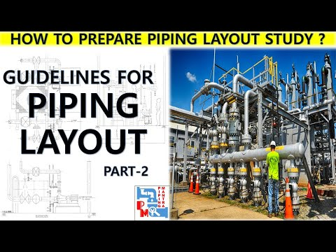 PIPING MANTRA- BASIC GUIDELINES OF PIPING LAYOUT- PART 2 - YouTube