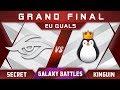 Secret vs Kinguin Grand Final Galaxy Battles 2018 Major EU Highlights Dota 2