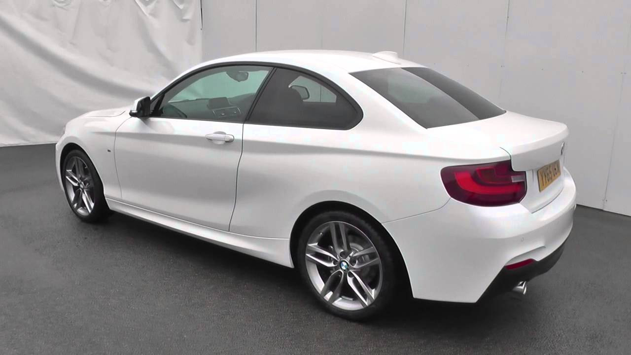 bmw 2 series 218d 150 m sport 2dr nav u15525 youtube. Black Bedroom Furniture Sets. Home Design Ideas
