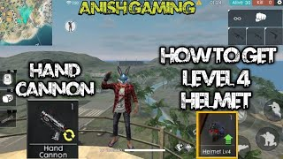 How To Find Level 4 Helmet In Garena Free Fire Level 4