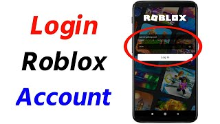 How to Login t๐ Roblox Account