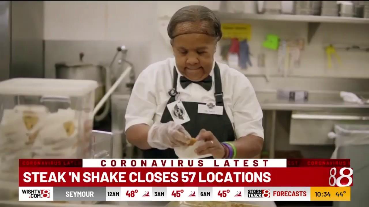 Steak 'N Shake shutting 57 locations