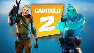 PRIMERA PARTIDA DE FORTNITE CAPITULO 2!!! Fortnite Battle Royale