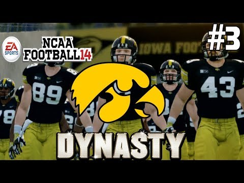 NCAA Football 14- Maryland Vs Iowa (3) (Season 1)